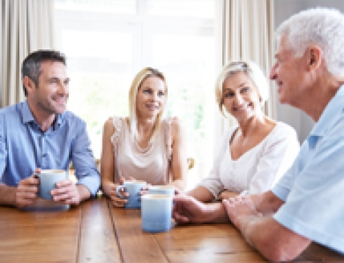 When buying a home becomes a family affair